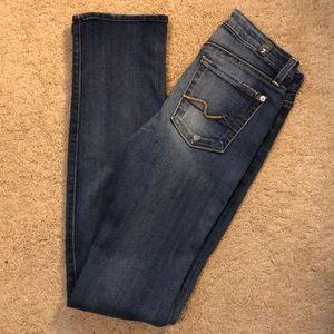 Women seven jeans size chart on poshmark